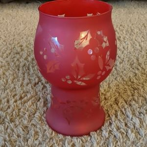Other - Christmas Holly Candle Holder